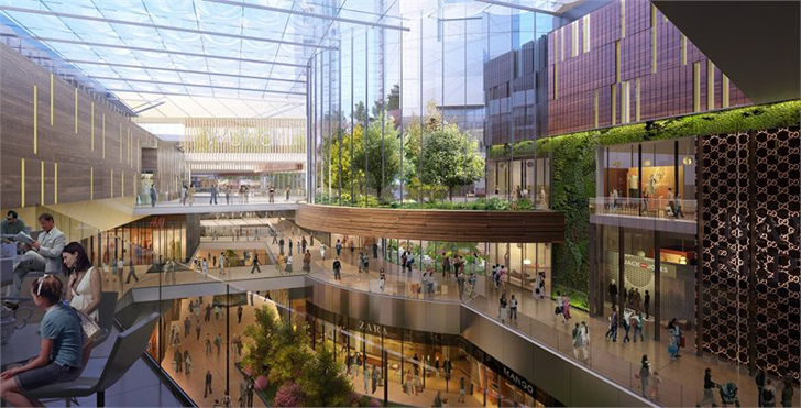 wuhan park place lifestyle project merges urban farming