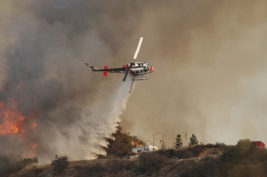 California wildfire, extreme weather, natural disaster, HUD, Rockefeller Foundation, competition