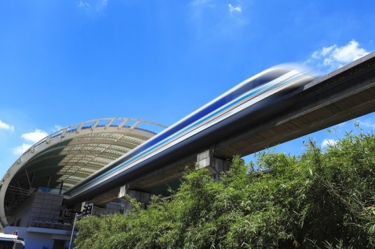 Japan Conducts First Public Test of New 311 MPH 'L-Zero' Maglev Train