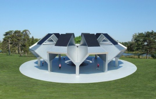 michele jantzen, solar rain tree oasis, california, drought, solar arrays, rainwater harvest, clean energy, reader submitted content, sustainable architecture
