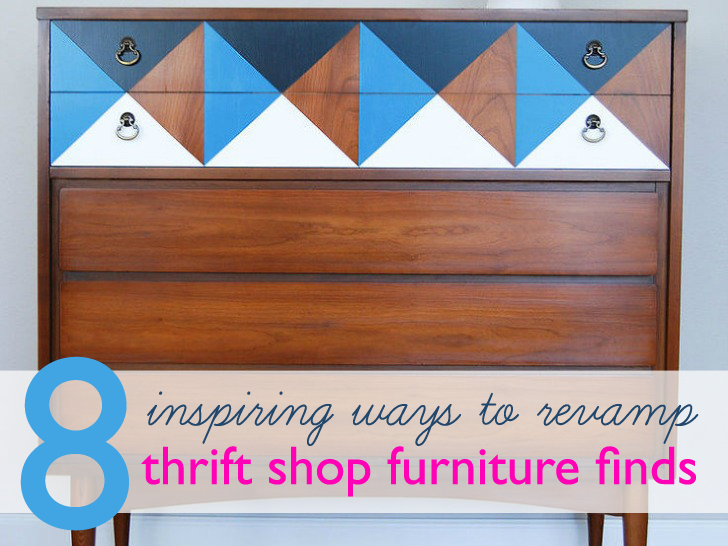 8 cool thrift store furniture revamps to inspire your next diy project inhabitat green design innovation green building