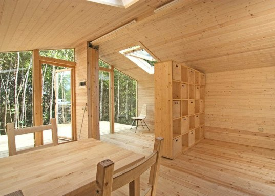 BIO Architects, Tiny home, Off-The-Shelf, DublDom home, Russia, sweet design, wooden home, prefab shelter