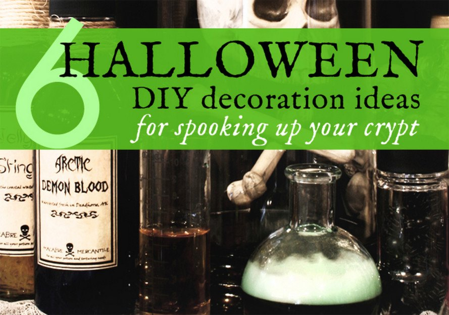 6 diy halloween decorations made with upcycled materials inhabitat 6 diy halloween decorations made with upcycled materials solutioingenieria Images