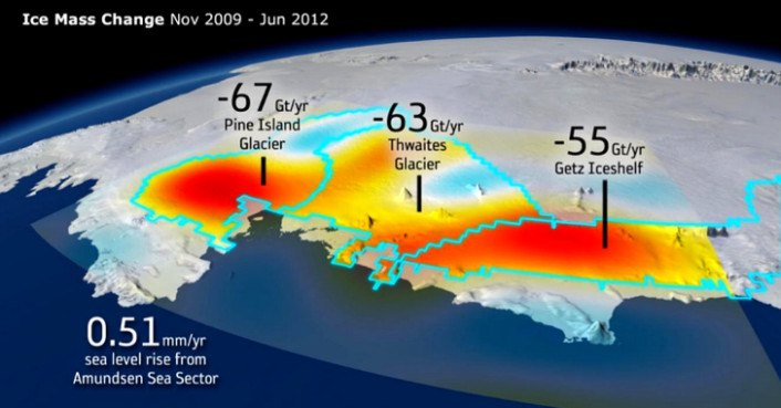 Antarctica S Ice Loss Is Significant Enough To Affect