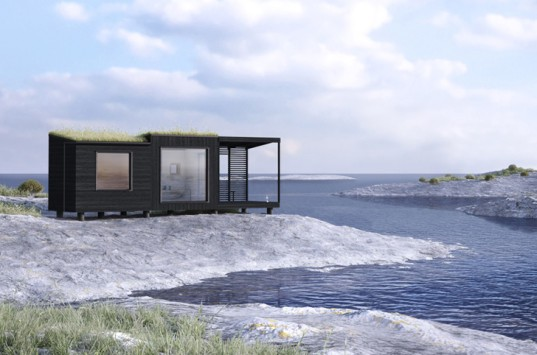 Jonas Wagell, sauna, Arja Sauna, Swedish design, finnish architecture, tiny house, tiny home,  holiday house, green architecture, eco tourism
