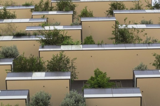 Bosco Verticale, Stefano Boeri, Stefano Boeri Architects, vertical forest, milan, world's first vertical forest, high-rise, biodiversity, leed gold, sustainable architecture, urban heat island effect, gray water recycling, solar power, mixed use,