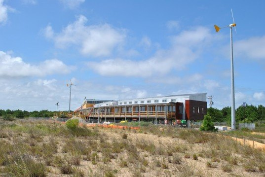 Chesapeake Bay Foundation, Brock Environmental Center, Virginia Beach, Hampton Roads, sustainability, solar, wind, net zero, LEED Platinum, climate change, rising sea levels, environmental education