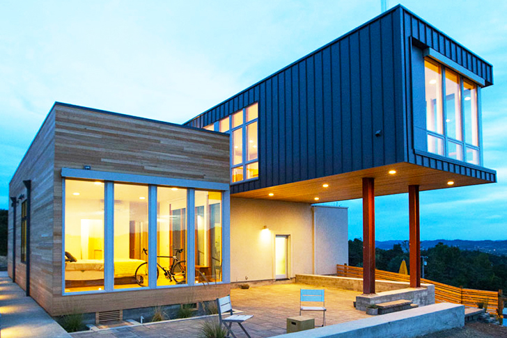 Modern Prefab-uluos Cloverdale Home in Sonoma Valley Built in Just ...