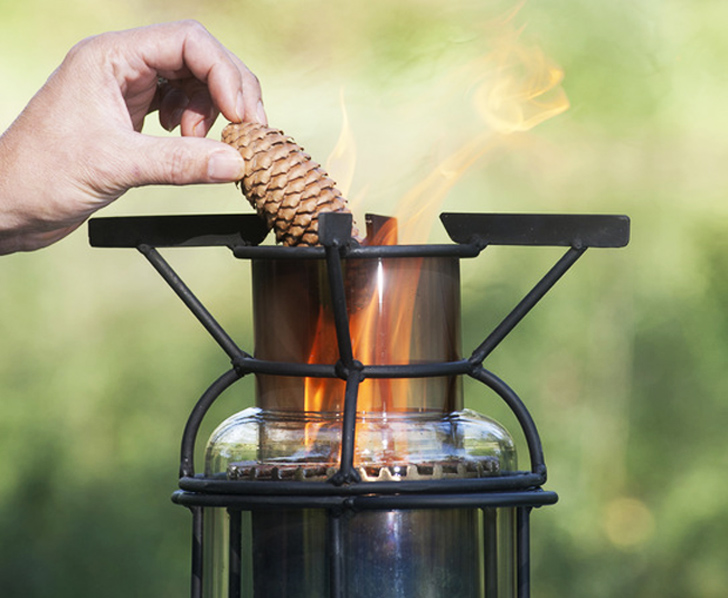 Fridael Woodgas Stoves Use Garden Waste For Fuel