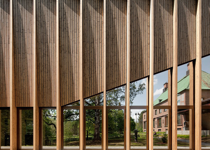 MX_SI Studio\'s Museum Addition in Finland Is Clad In Locally Sourced ...