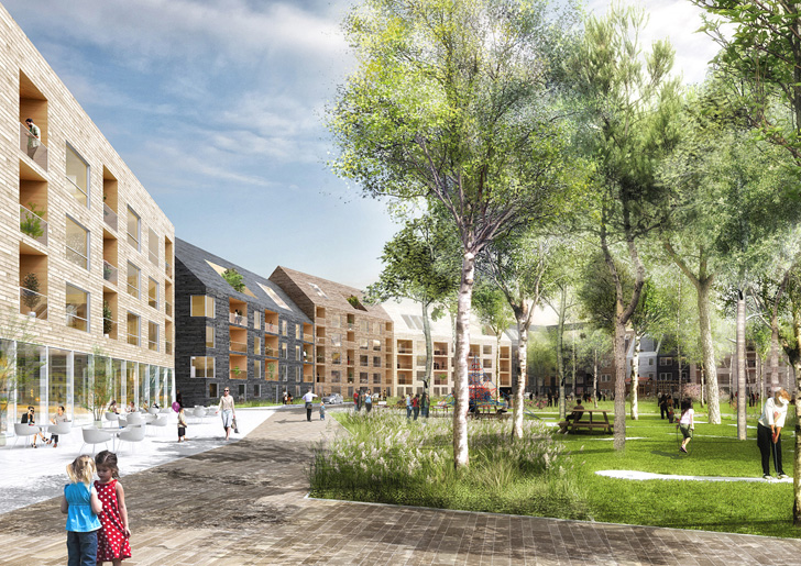 Urban Sk 228 Rvet Neighborhood Will Have A Lush Park At Its