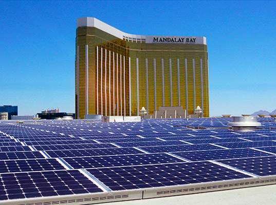MGM Installs the Largest Rooftop Solar Array in the US – and it Only Powers 1/5 of the Hotel