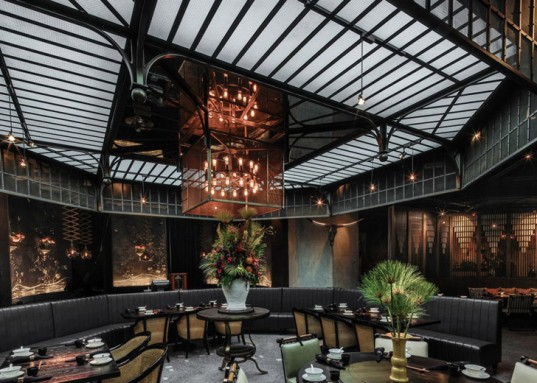 Hong Kong, Chinese design, Joyce Wang Studio, MOTT32 restaurant, interior design, restaurant, best interior award, architecture award, repurposed spaces, green renovation