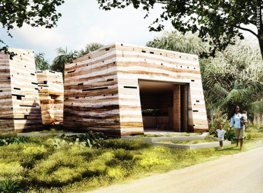 Sankofa House, M.A.M.O.T.H., Nka Foundation, Ghana, Mud House Design, Ejisu