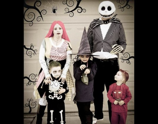 Nightmare before Christmas Family