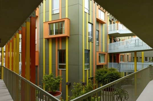 Pico Housing, Moore Ruble Yudell, affordable housing, santa monica, sustainable housing, green housing
