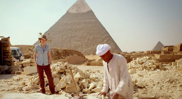 Smithsonian Channel Harvard University Documentary Shows the Giza