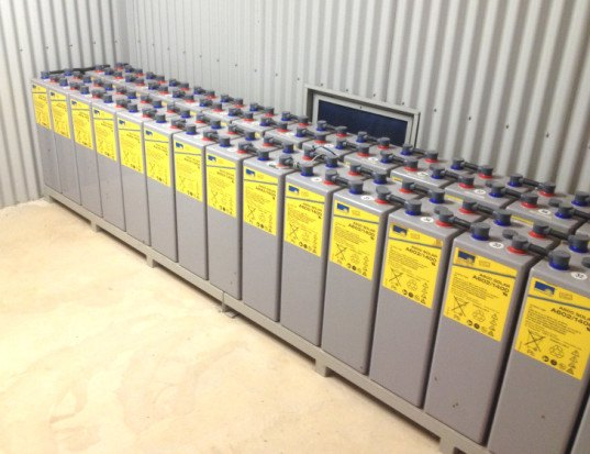 Rechargeable solar battery