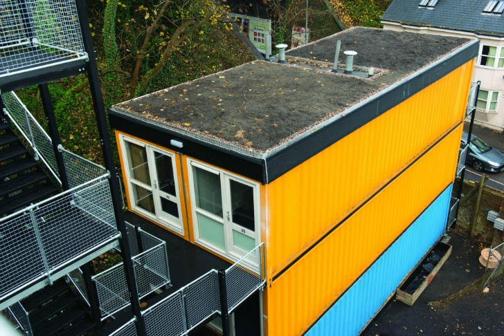 Brighton S Pioneer Shipping Container Development Houses