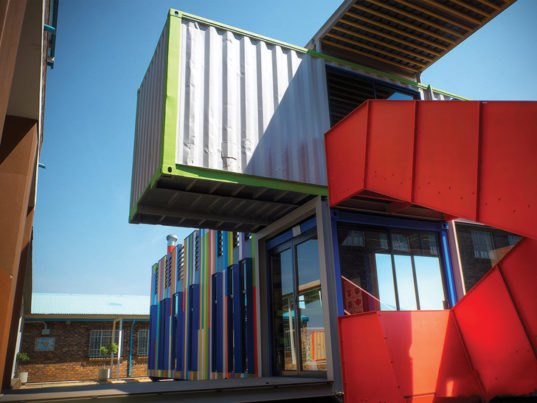 Technicolor SEED Library Shipping Containers Provide a Fun