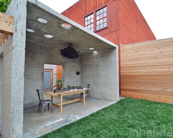 Concrete House Exterior, San Francisco Concrete House, Mission District Concrete House, Shotwell Street Home, Todd Davis Architecture, Shotwell Residence, green renovation, sustainable architecture, green architecture, sustainable design, green design, aia SF, architecture and the city festival, home tours, green building, san francisco, mission district
