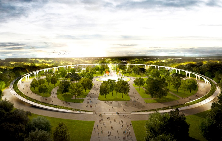 Lola Landscape Architects Win Third Place In Moscow S