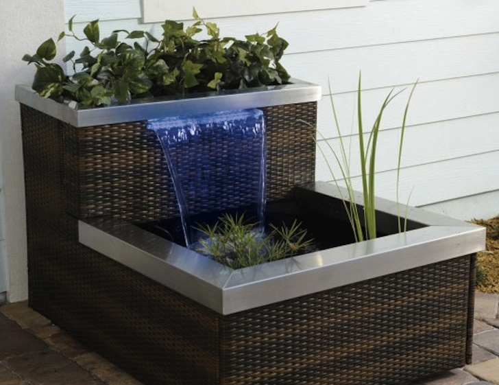 Stylish Systems To Keep Your Organic Vegetable Garden Growing - Indoor fountain kits