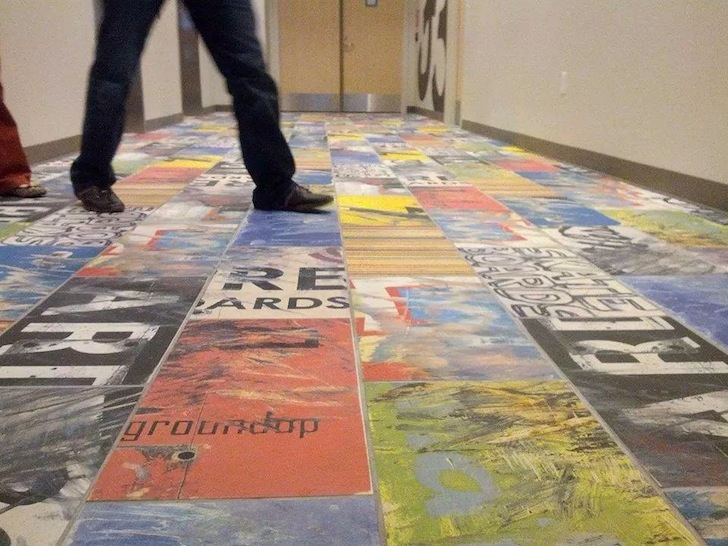 Art Of Board Launches First Ever Recycled Skateboard Floor