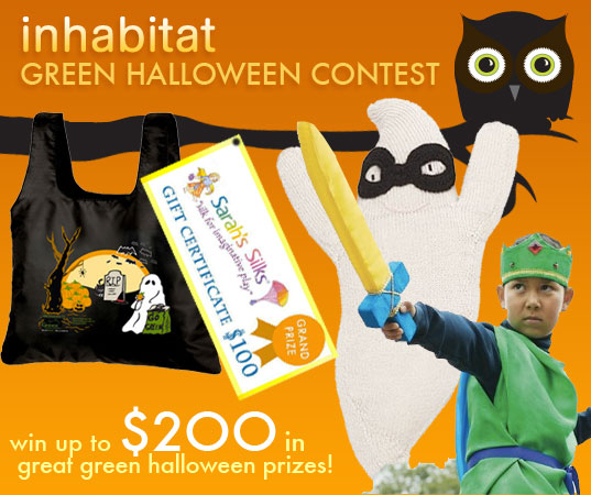 enter inhabitots green halloween contest - Halloween Contest Prizes