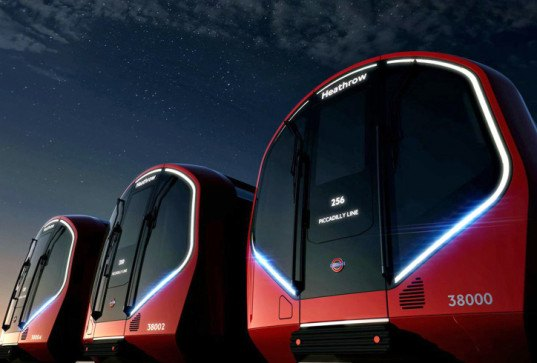 London Unveils Driverless Subway Trains of the Future