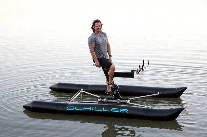 The Schiller X1 Lets You Bike Across the Waves