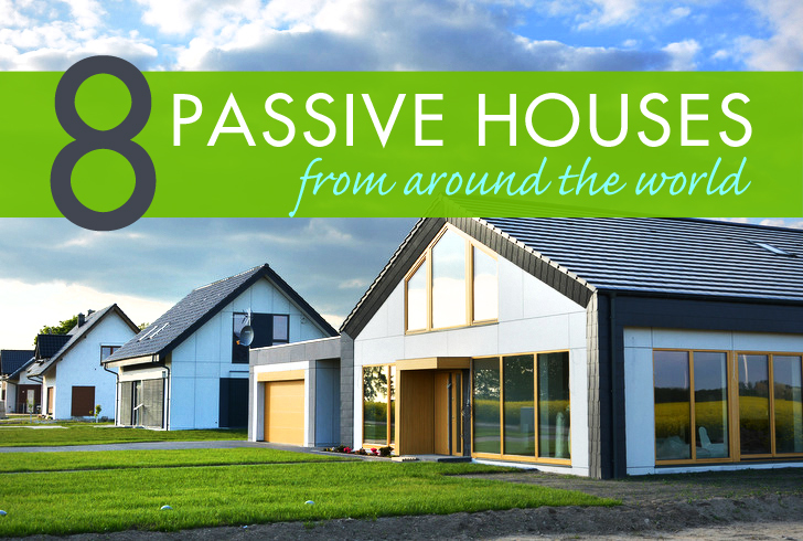 8 ultra low energy passive houses around the world for Passive house plans