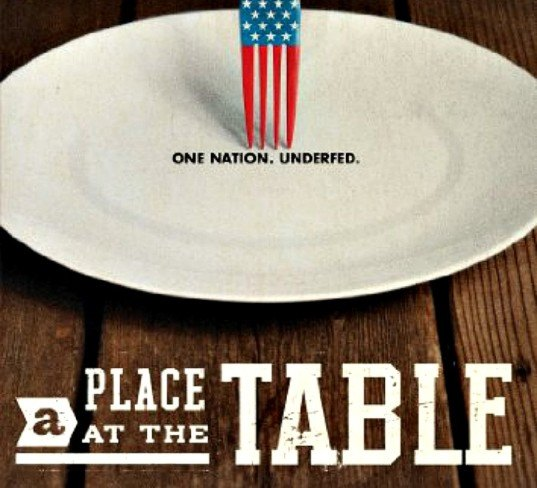 a place at the table, a place at the table movie, a place at the table documentary, agricultural system, food inc, jeff bridges, tom colicchio, hunger in america, food systems, sustainable food, nutrition