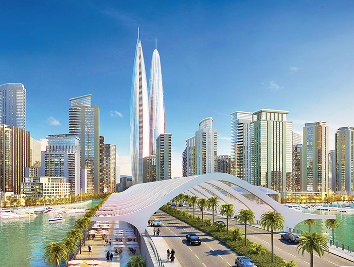 Dubai Unveils Plans to Build the World's Tallest Twin Towers