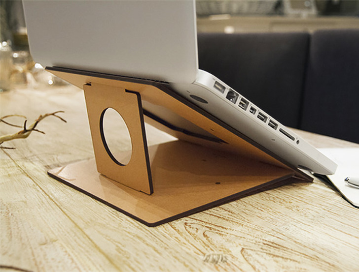 Attractive If Youu0027re One Of The Millions Of People Who Spend Their Days Typing On A  Laptop, Check Out FLIO: Itu0027s A Slim, Collapsible Wooden Laptop Stand That  Offers An ... Images