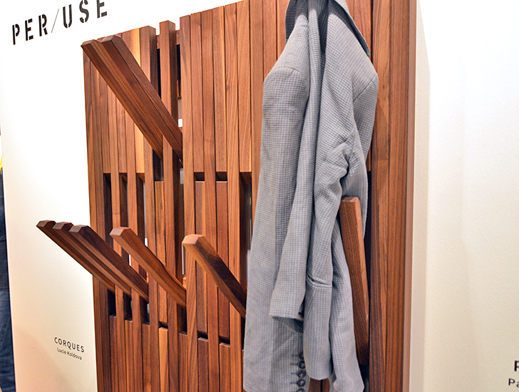 Folding Coat Rack By Per Use 171 Inhabitat Green Design