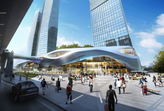 Benoy Unveils Designs For Park Centered Mixed Use