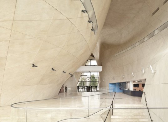 Museum of the History of Polish Jews, Warsaw, Finlandia Prize for Architecture, Finnland, Lahdelma & Mahlamäki Architects, Kurylowicz & Associates, Polish architects, museum, perforated facade