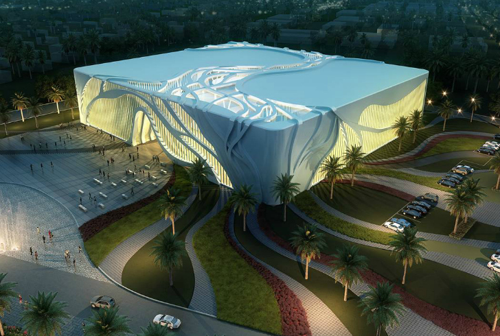Tree Inspired Indoor Soccer Complex Provides Luminous Interior For Players And Fans Aspire Sports Qatar Inhabitat