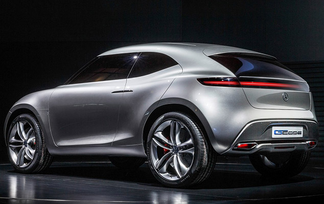 New Mercedes Benz Concept Car Is Powered By Its Paint Inhabitat