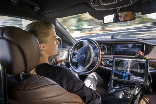 Mercedes Benz Reveals Its Car Interior Of The Future Inhabitat