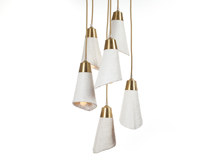These Elegant Cascade Pendant Lights Are Actually Made From