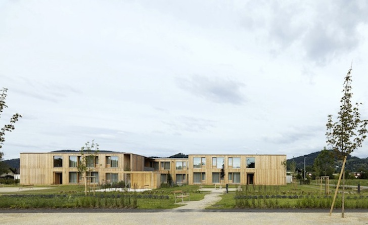Prefab, Timber Clad Building, Timber Architecture, Larch, Untreated  Austrian Larch,