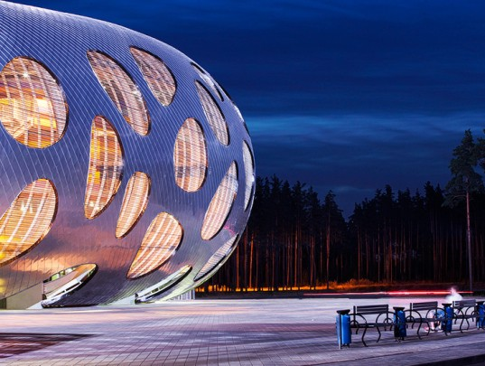 OFIS Arhitekti, Slovenian Architects, Belarus, Stadiums, Football Stadium,  Arena, Sports