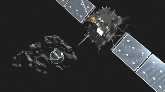 Philae probe, comet landing, Rosetta, Rosetta project, European Space Agency, first probe lands on comet, first pictures from comet surface, space exploration, ESA