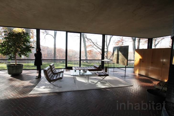 Philip Johnson Glass House Kitchen