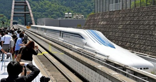 jr tokai, jr central, japan rail, maglev, super maglev, magnetic levitation, train line, fast train, high speed rail