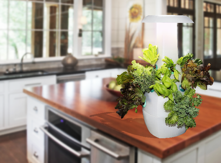 ROOT countertop garden helps you grow organic, sustainable food in your own kitchen