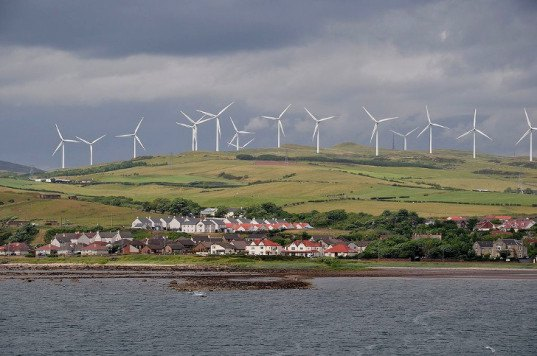 Scottish wind power 1