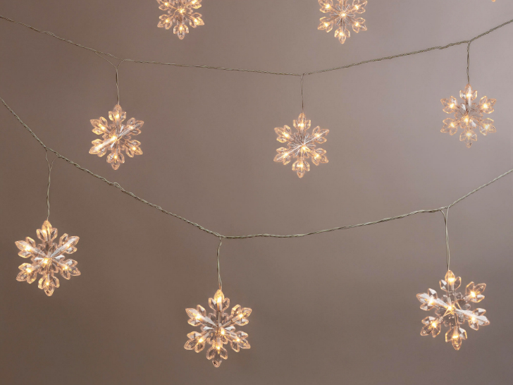 Christmas Snowflake Lights